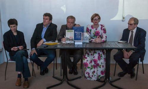 Presentation of Yury Dmitriyev books took place at Petrozavodsk