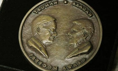 International Memorial was awarded with Truman-Reagan medal of Freedom